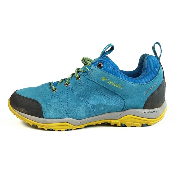 Columbia Fire Venture Waterproof Hiking Shoes 9.5